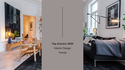 Top Autumn 2020 Interior Design Trends