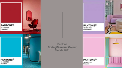 Pantone Spring/Summer Colour Trends 2021
