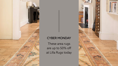 CYBER MONDAY: These Area Rugs Are Up To 50% Off At Lilla Rugs Today