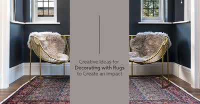 Creative Ideas: Decorating With Rugs To Make An Impact