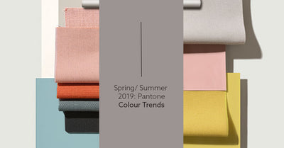 Spring/Summer Pantone Colour Trends 2019