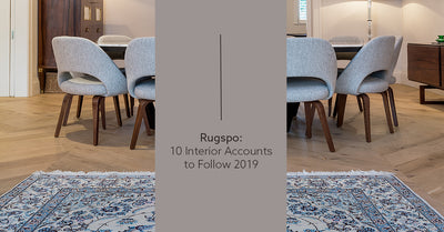 Rugspo – 10 of the best interior design accounts on Instagram accounts to follow in 2019