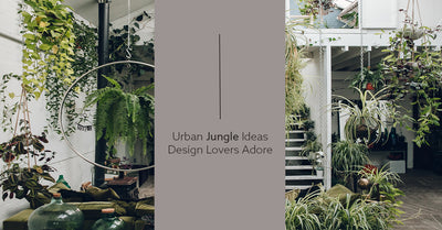 Urban Jungle Ideas Design Lovers Adore (+5 ways the freshen up your decor with indoor plants!)