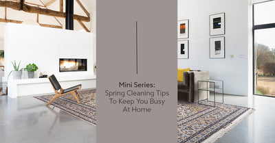 Mini Series: Spring Cleaning Tips to Keep You Busy at Home