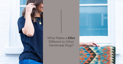 What makes a Kilim different to other handmade rugs?