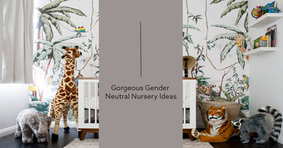 Gorgeous Gender Neutral Nursery Ideas
