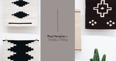 Rug Hanging Is Totally A Thing