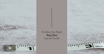 Finding the Right Rug Size