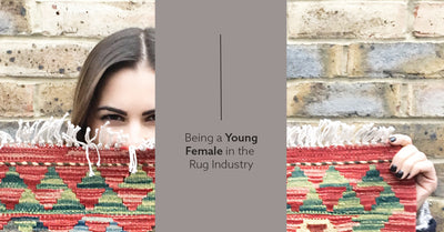 Being a young female in the rug world