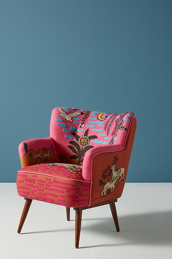 Anthropology Imagined World Accent Armchair