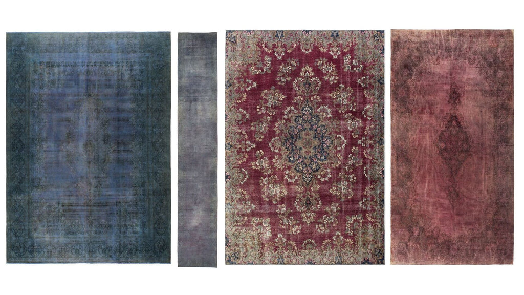 Lilla Rugs Overdyed Rugs