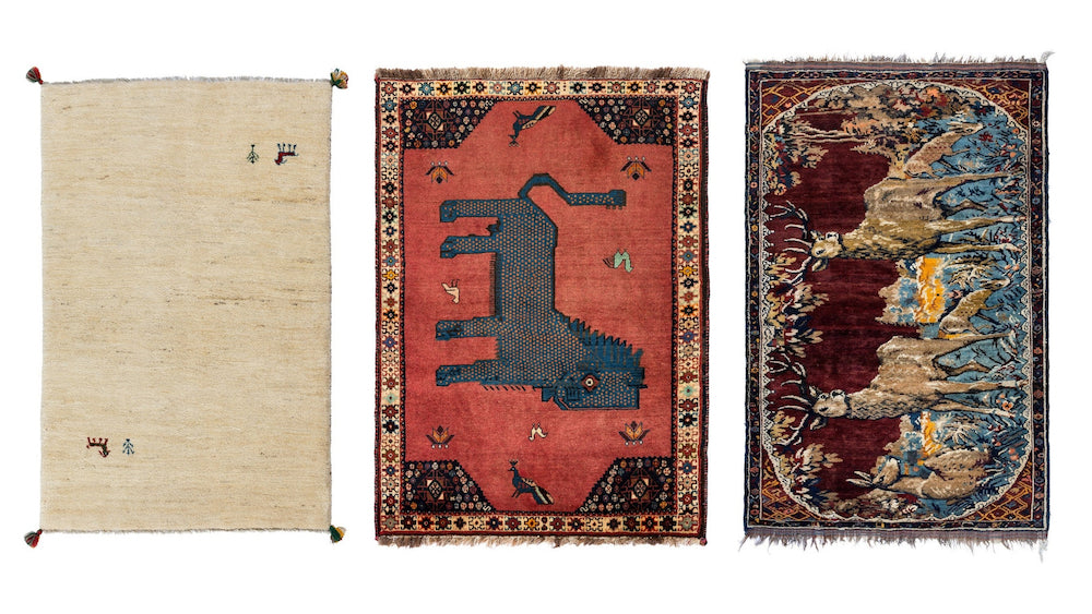 Animal Patterned Persian Rugs
