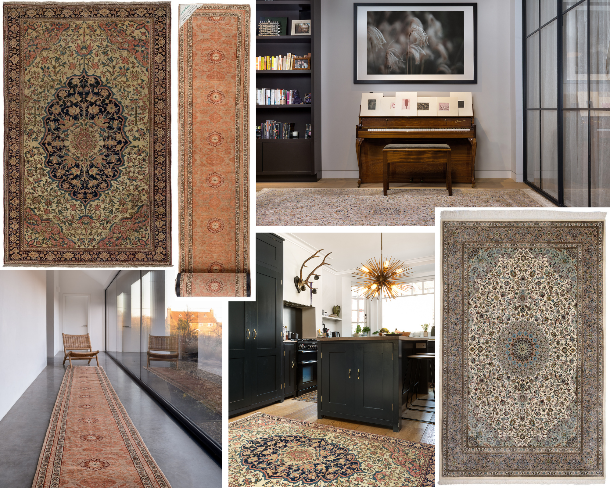 Persian rugs, oriental rugs, interior design, home decor, home accessories, cyber monday, sales weekend, shop small, london rugs, rug collections, statement rugs