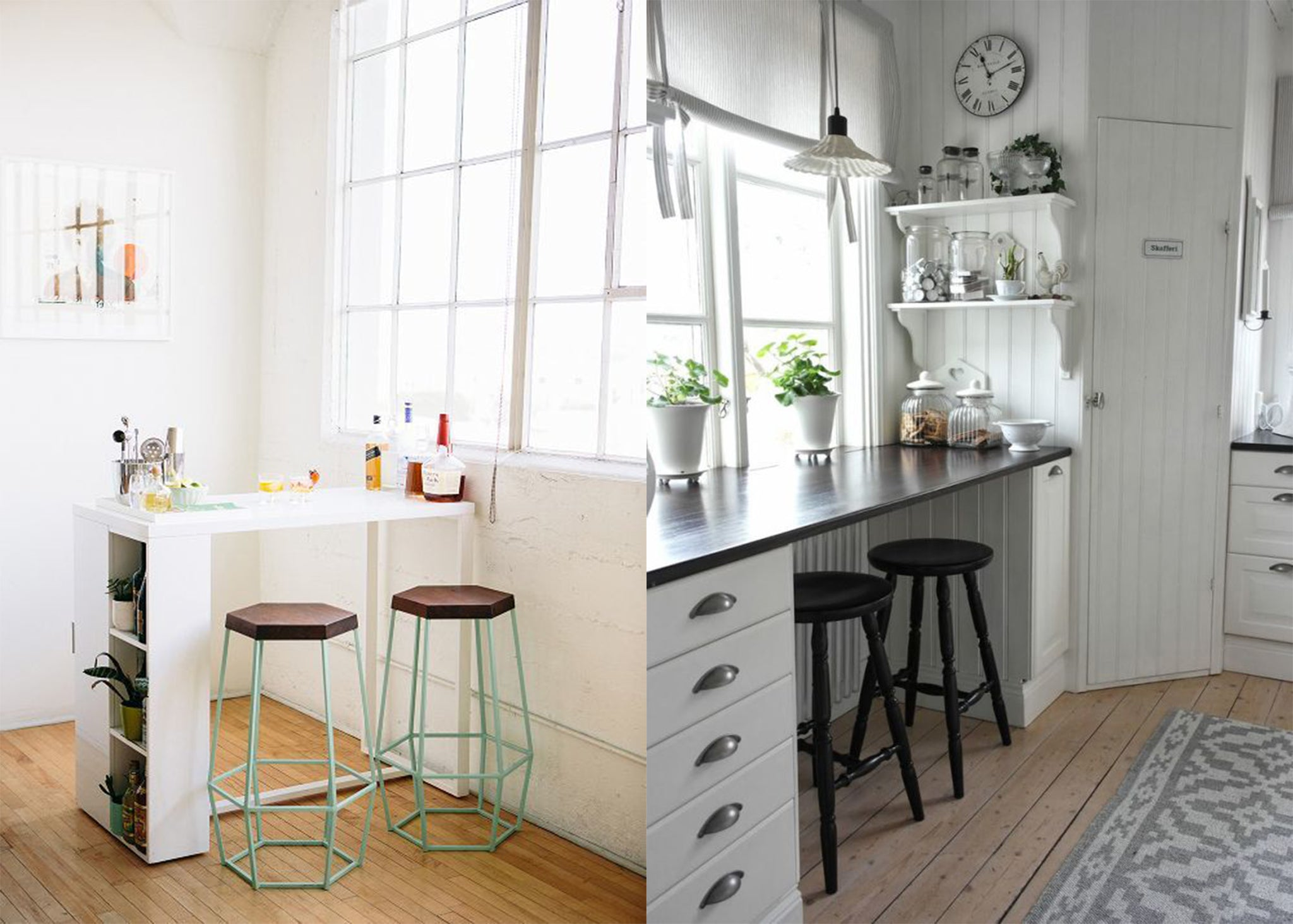 Ideas on how to utilise small spaces