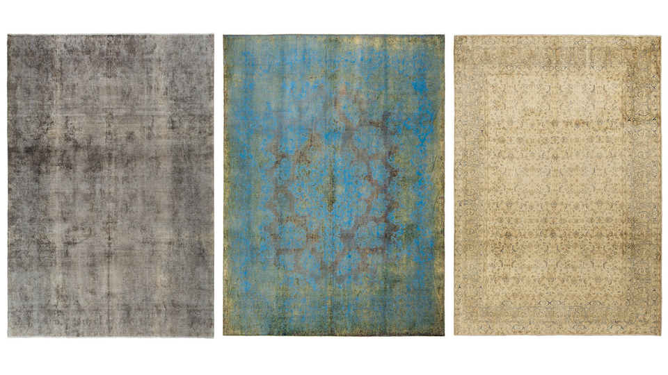Lilla Rugs Persian Rugs Overdyed Collection