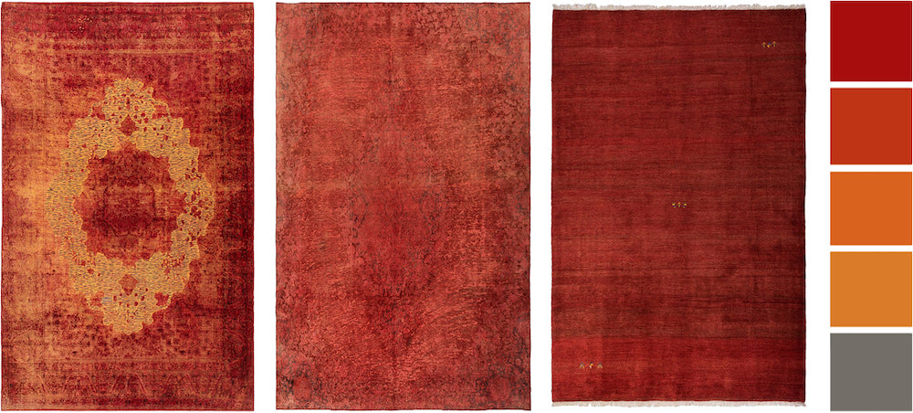 red rugs at lilla rugs