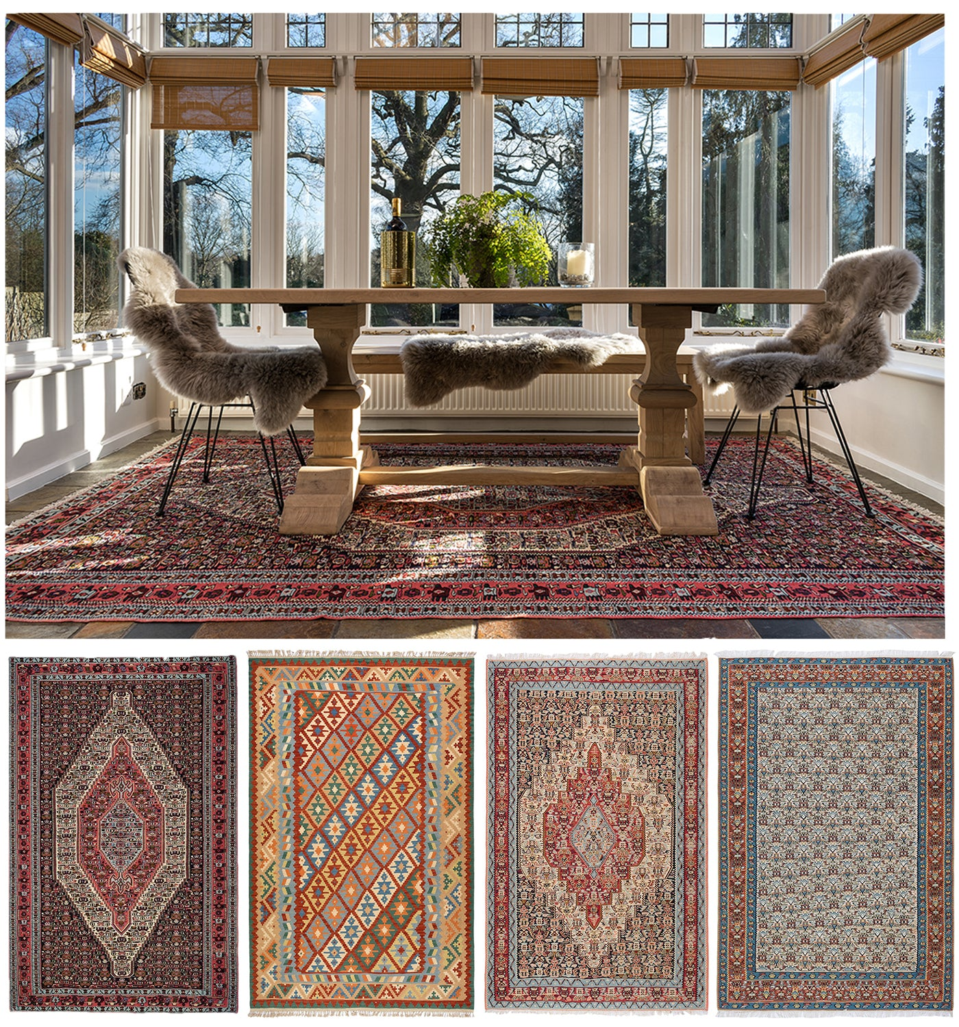 Persian Kilim Rugs Kitchen Trend
