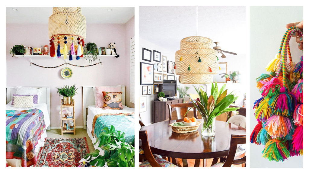 Tassels on Lamps Lilla Rugs Blog on Ikea Hacks