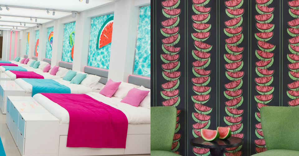 Lilla Rugs blog post on the interior design in the love island villa 2018