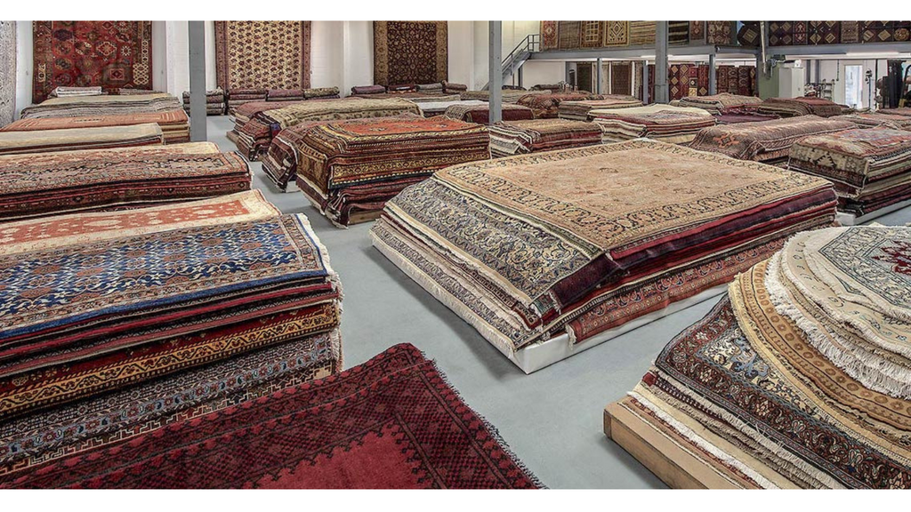 Lilla Rugs Warehouse in London
