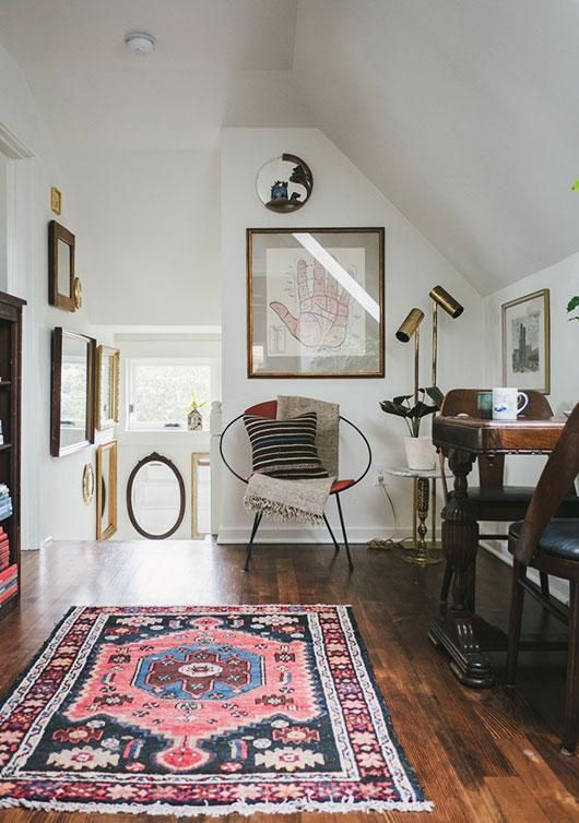 Lilla Rugs Blog Post on 7 rug hacks to make a small space look bigger be bold with colour