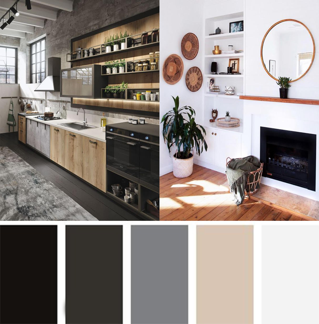 Colour psychology, interior design, neutral colours