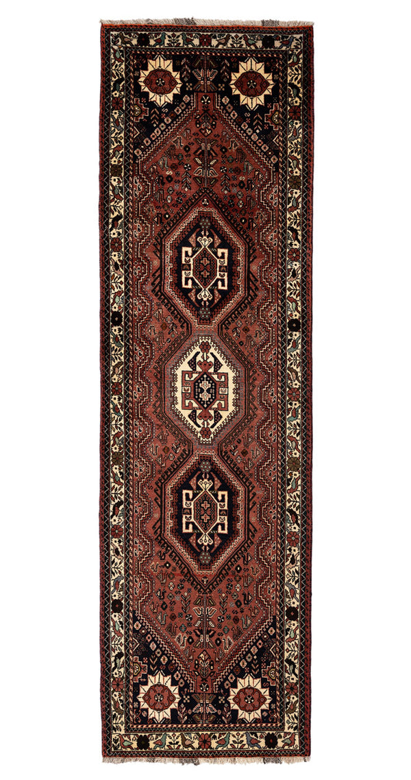 CHANTIK Persian Mehraban Runner 334x76cm