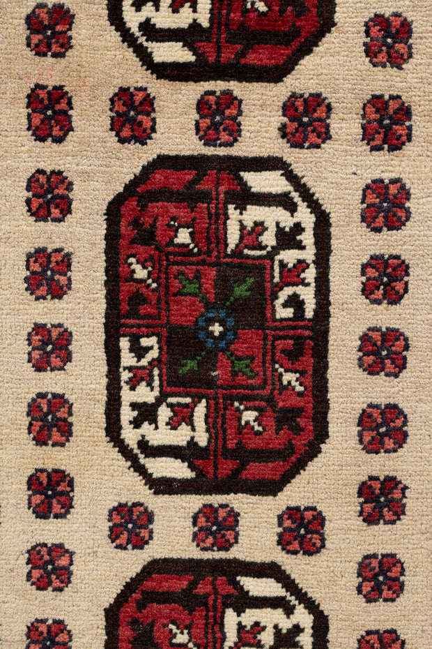 MAKELA Persian Baluch Runner 340x76cm
