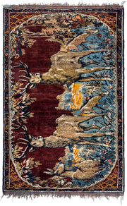 DEMURE Antique Persian Hayat Davoudi 238x155cm