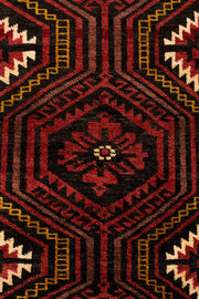 THYME Persian Baluch 255x119cm Red Rug