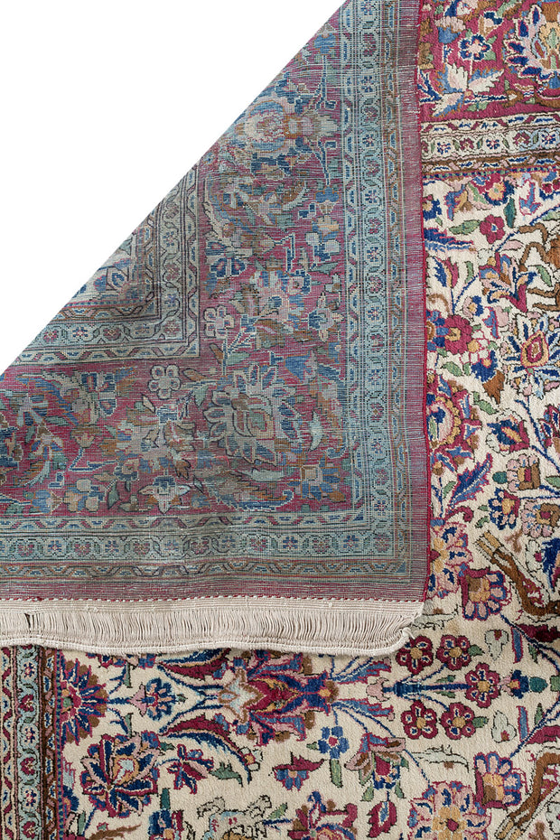 FLORENCE Antique Persian Silk Kashan 200x130cm