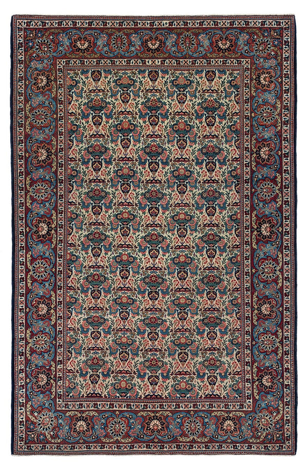 LAUREL Antique Persian Kashan 206x136cm
