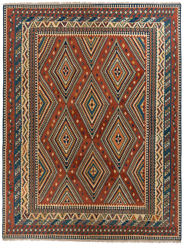 KITTY Vintage Persian Qashqai Kilim 480x405cm
