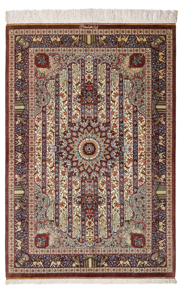 ALICE Persian Qum Silk 150x100cm