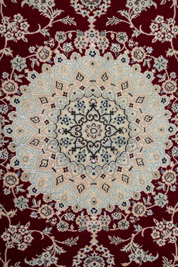 ANOOSH Persian Nain Red 9La 204x200cm