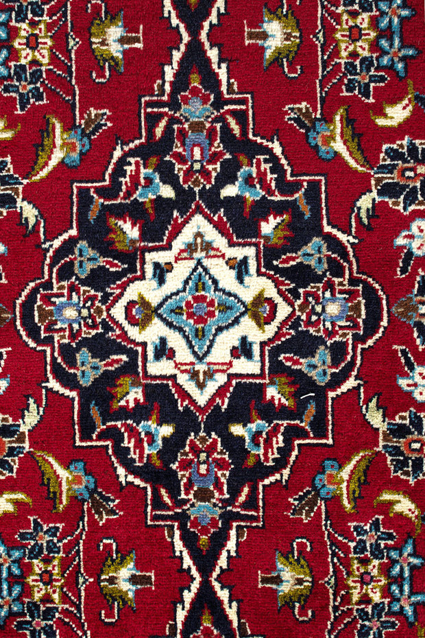 FORTUNE Persian Red Kashan Runner 500x98cm Front