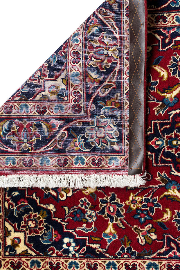 HAZE Persian Kashan Red Runner 404x97cm Back