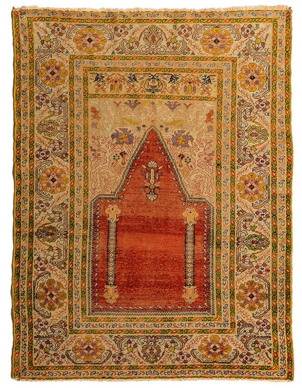 Lilla Rugs KENDALL Turkish Kaisery Silk 160x125cm