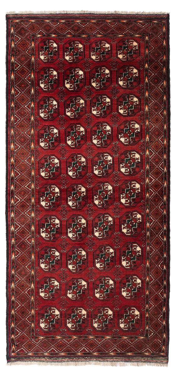 MABEL Persian Baluch Red Rug 236x112cm Front