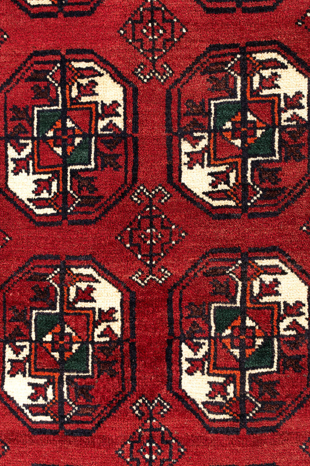 MABEL Persian Baluch Red Rug 236x112cm Close