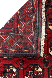 MABEL Persian Baluch Red Rug 236x112cm Back