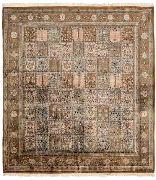 MACHA Persian Qum Silk 197x190cm