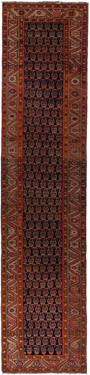 Lilla Rugs MIRA Antique Persian Bidjar Runner 477x107cm
