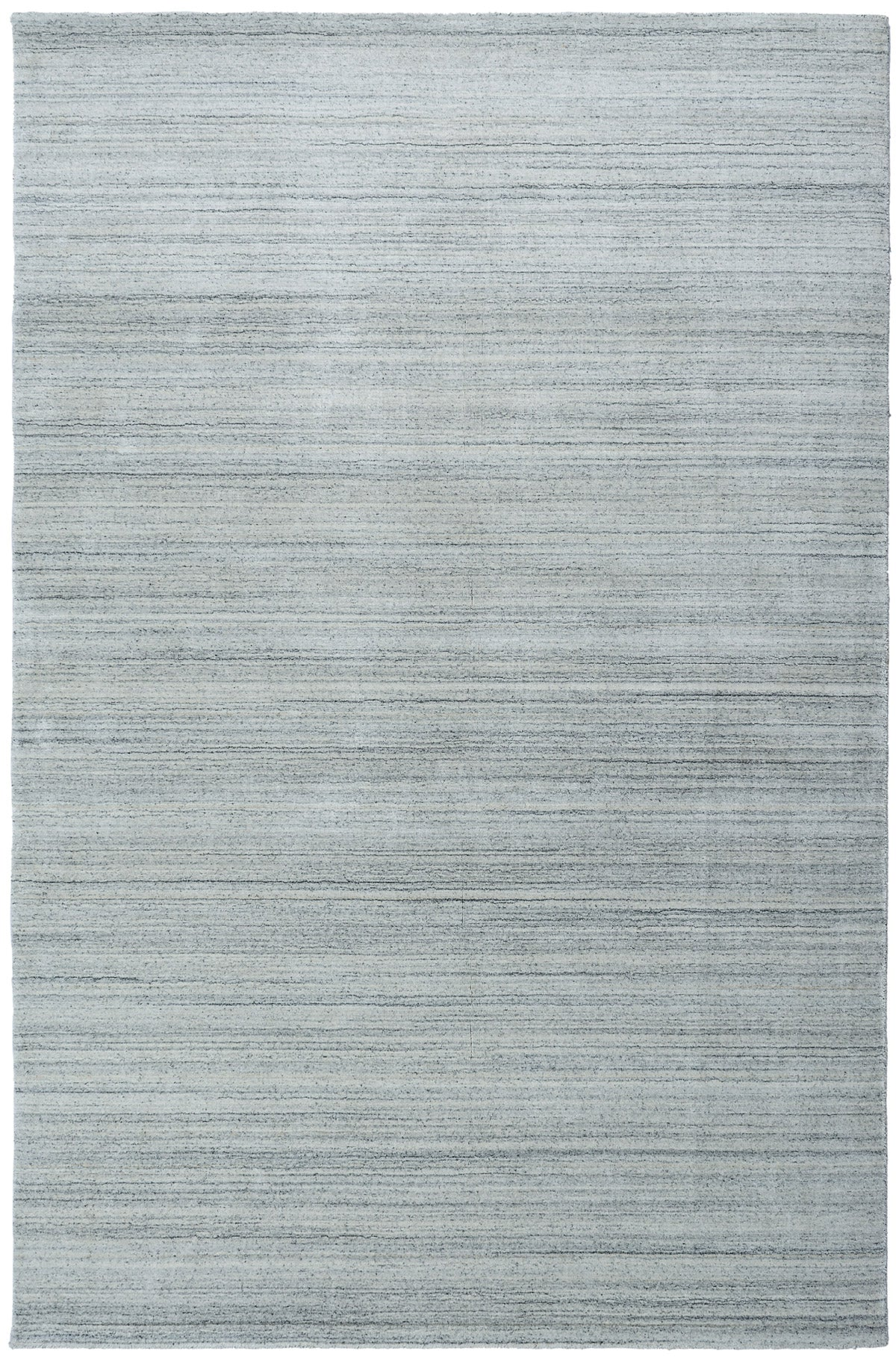 MOONLIGHT Plain Rug - Silver Grey