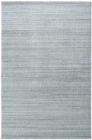 MOONLIGHT Plain Rug - Silver Blue