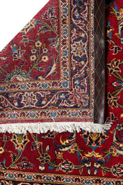 NOVA Persian Kashan Red Runner 434x104cm Back