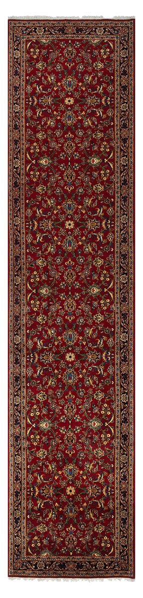 NOVA Persian Kashan Red Runner 434x104cm Front