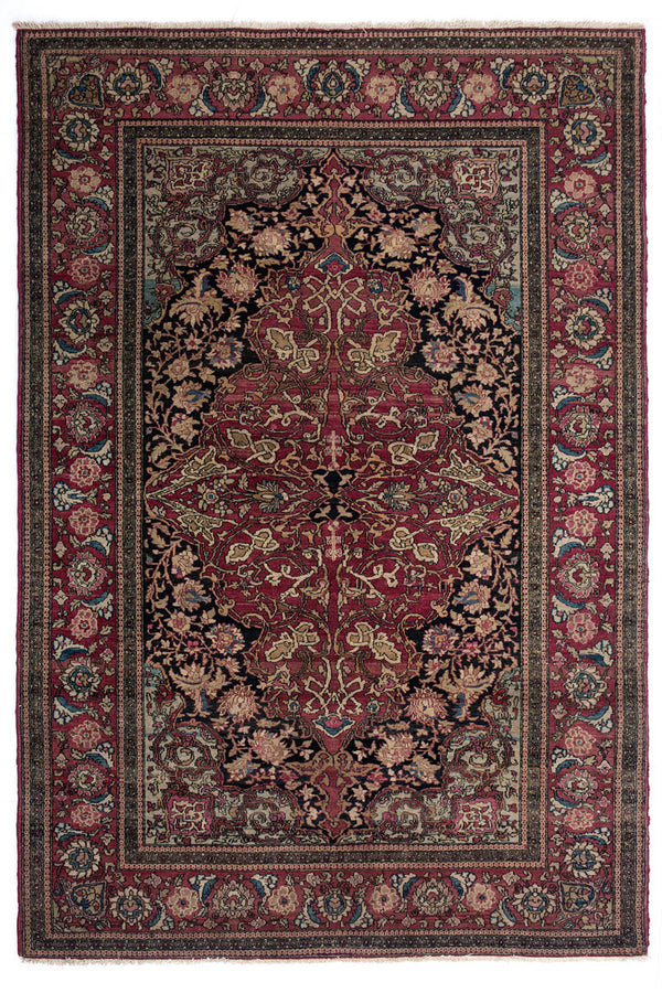 Lilla Rugs POPPY Persian Old Isfahan 218x138cm