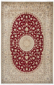 ROSY Persian Nain 6La 310x212cm Red Rug