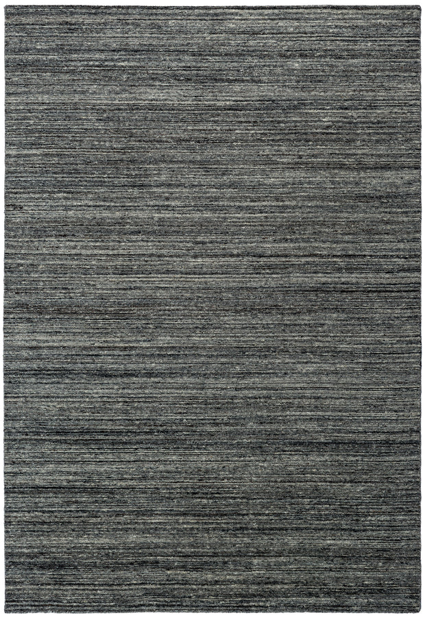 SLATE Plain Rug - Shades of Dark Grey